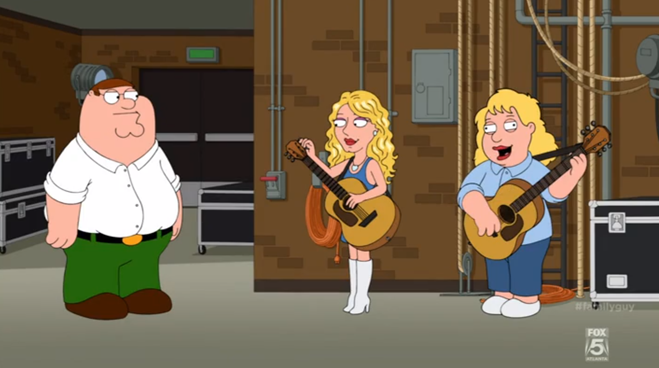 Taylor Swift On Family Guy