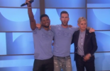 Adam Levine & Usher on Ellen