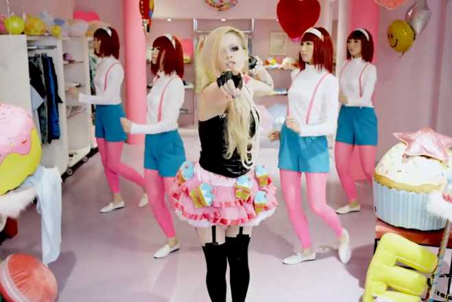 Avril Lavigne Hello Kitty Feature