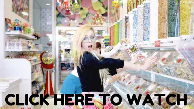 Avril Lavigne Hello Kitty Video