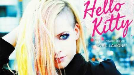 Avril Lavigne Helly Kitty Feature