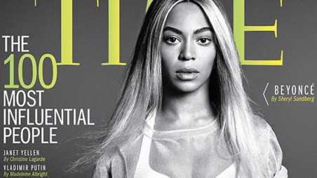 Beyonce - Time 100 Most Influential People 1