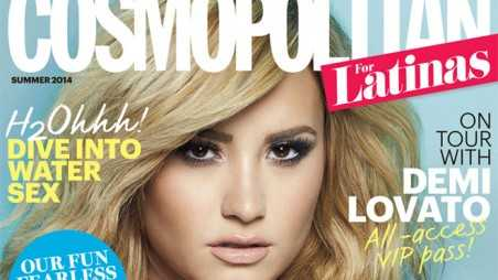 Demi Lovato - Cosmo Latinas, June 2014 Cover 1b