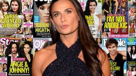 Demi Moore Adopting Rumors Ashton Mila Wedding Baby