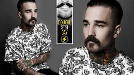 Douche Day Photos Hipsters Tattoos Beards Mustaches Gangster