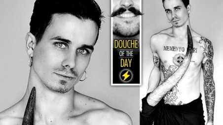 Douche Day Photos Hipsters Tattoos Beards Mustaches Memento Mori