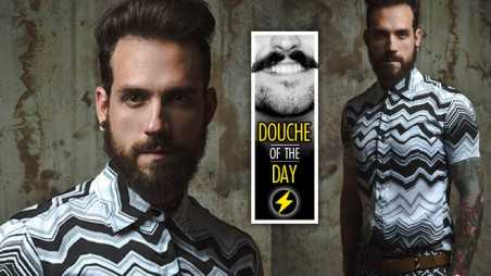 Douche Day Photos Mustaches Beards Hipsters Tattoos Fancypants