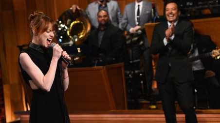 "Emma Stone Visits ""The Tonight Show Starring Jimmy Fallon"""