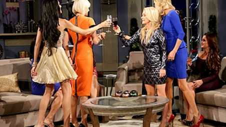 Real Housewives Beverly Hills Reunion Vanderpump Glanville Fight