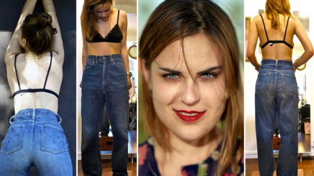 Tallulah Willis Style Fashion Blog Mom Jeans