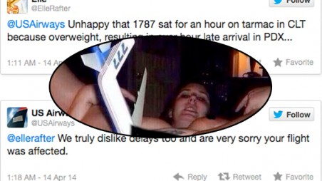 US Airways Tweet Photo Woman Airplane Porn Employee Fired Social Media