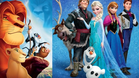 frozen soundtrack billboard record 200 the lion king poll