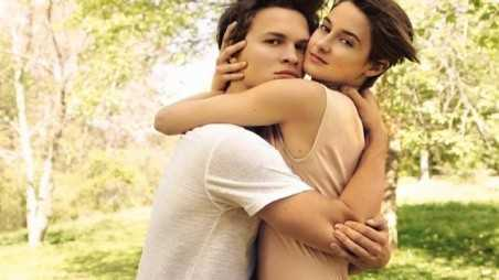 Ansel Elgort and Shailene Woodley EW Featured