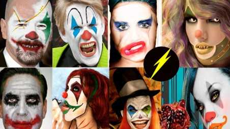 Celebrities Evil Clowns Photoshop Pics