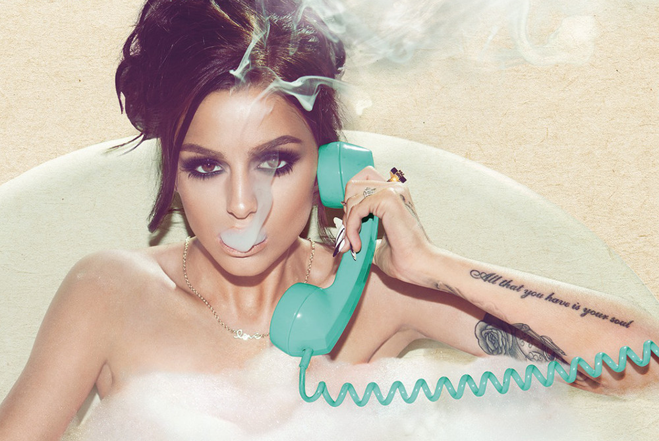 Cher Lloyd - Sorry I'm Late Album Cover Art 1