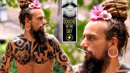 Douche Day Photos Hipsters Tattoos Beards Mustaches Daisy