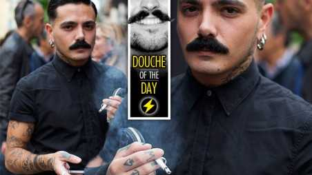 Douche Day Photos Hipsters Tattoos Mustaches Beards Milan Streetstyle
