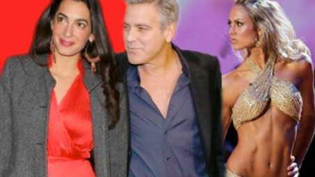 George Clooney Engaged Exes Stacey Keibler Pissed Amal Alamuddin