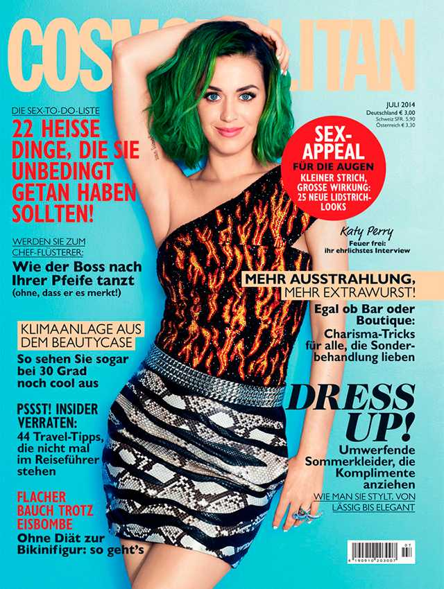 Katy Perry - 2014 Cosmo Germany