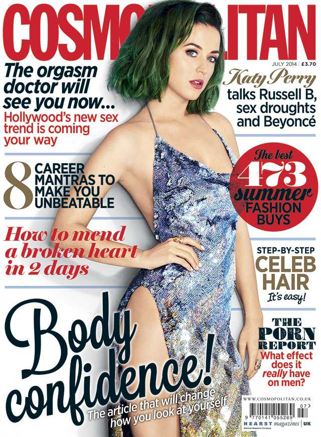 Katy Perry - 2014 Cosmo UK