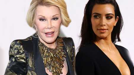 Kim Kardashian Joan Rivers Ugly Baby North Feud Fight Upfronts