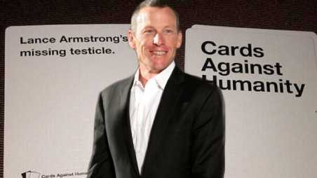 Lance armstrong cancer testicles cards against humanity