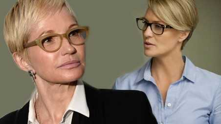 Man Look Women Robin Wright ellen barkin House cards