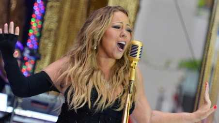 "Mariah Carey Performs On NBC's ""Today"""
