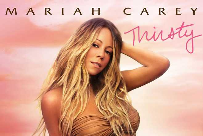 Mariah Carey - Thirsty Single Cover Art 1