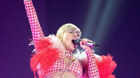 Miley Cyrus In Concert - Brooklyn, NY
