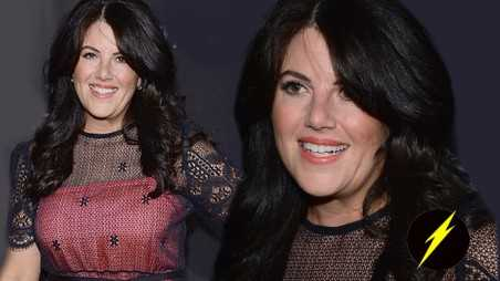 Monica Lewinsky photos vanity fair no longer hiding bill clinton