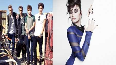 The Vamps Demi Lovato Featured