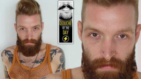 douche day photos hipsters beards mustaches tattoos scary ginger