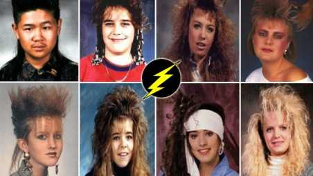 Bad hair photos 1980s worst styles funny mullets perms