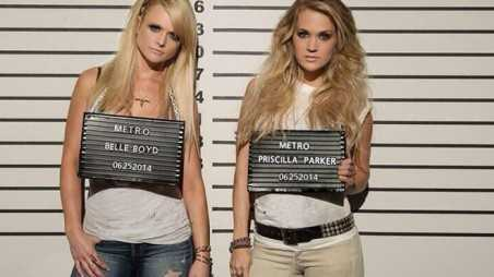 Carrie Underwood & Miranda Lambert Somethin Bad Video