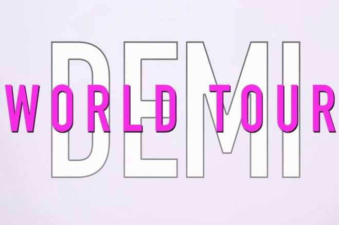 Demi Lovato The World Tour Promo VIdeo Featured