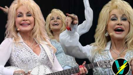 Dolly Parton Glastonbury Video Lip Syncing Performance