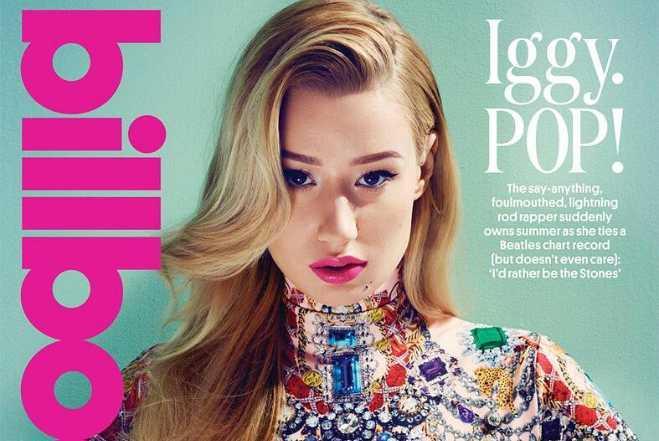 Iggy Azalea Billboard Feature