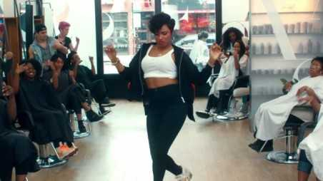 Jennifer Hudson Walk It Out feature