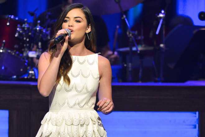 Lucy Hale Grand Ole Opry Debut
