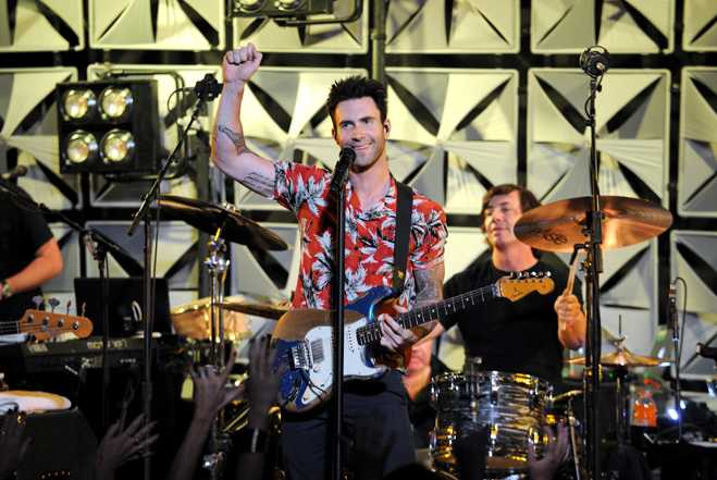 Maroon 5 Performs At The #AmexEveryDayLive Concert, Live Streamed From The Bowery Ballroom