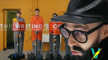 OK Go Writings On Wall Video Behind scenes Analysis review Hungry Ghosts
