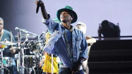 "Pharrell Performs For The ""American Express Unstaged"" Music Series, Directed By Spike Lee, Live Streamed From The Apollo Theatre"