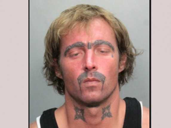 Think before you ink the ultimate horrendous bad face for Face tattoos gone wrong