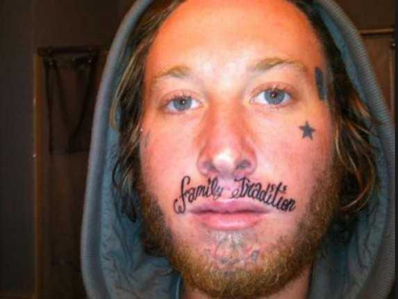 Think Before You Ink! The Ultimate Horrendous Bad Face ...