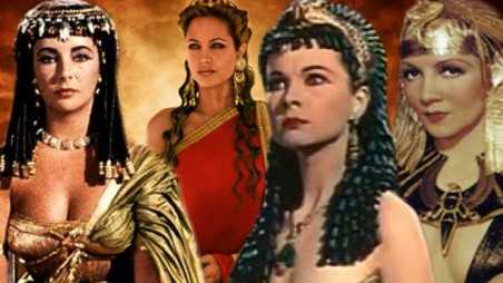 Angelina Jolie Cleopatra Movie white actresses playing black women