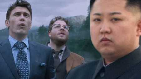 james franco seth rogen North Korea Kim jong un movie