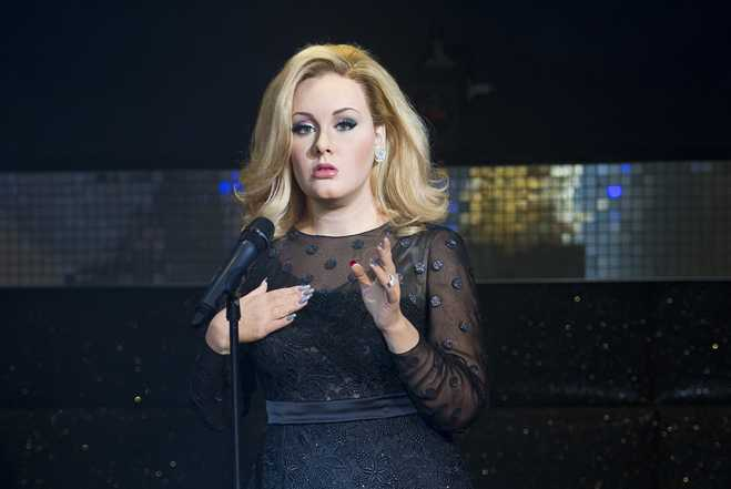 Madame Tussauds Unveil Waxwork Of Singer Adele