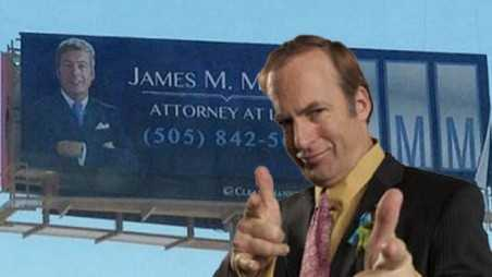 Better call Saul billboard audio plot story breaking bad spin off