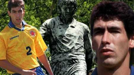 Colombian footballer murdered andres escobar own goal world cup drugs cartel